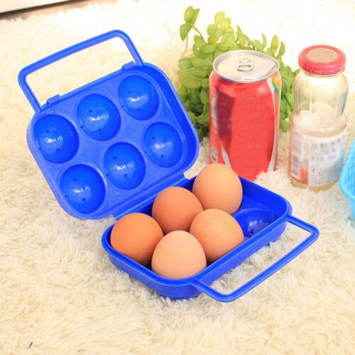 Ei Eierbehälter For 2//6//12 Eier Eierträger Eierbox Holder Tragbar Reise Box**`
