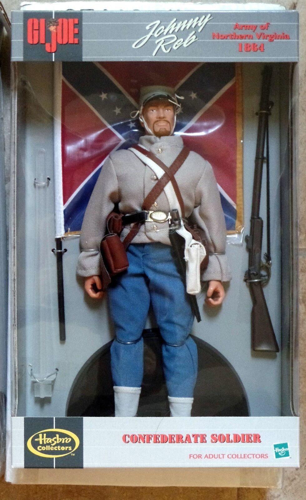 GI Joe Mail-Away 1864 Johnny Reb Confederate Soldier Hasbro