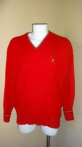 VINTAGE JOHNNIE WALKER SWEATER Red Label 100% CASHMERE MADE IN ...