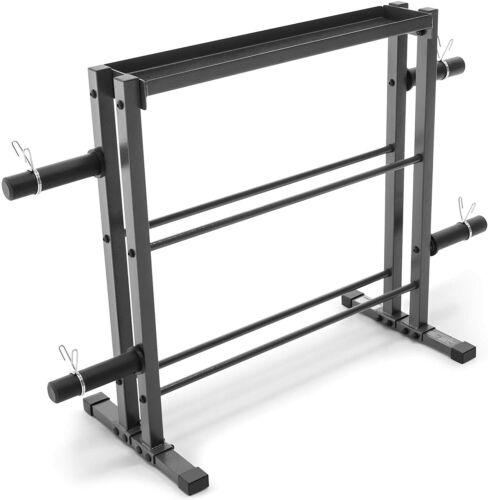 Dumbbell Kettlebell STORAGE HOLDER STAND Weight Plates Rack Shelf Gym Fitness