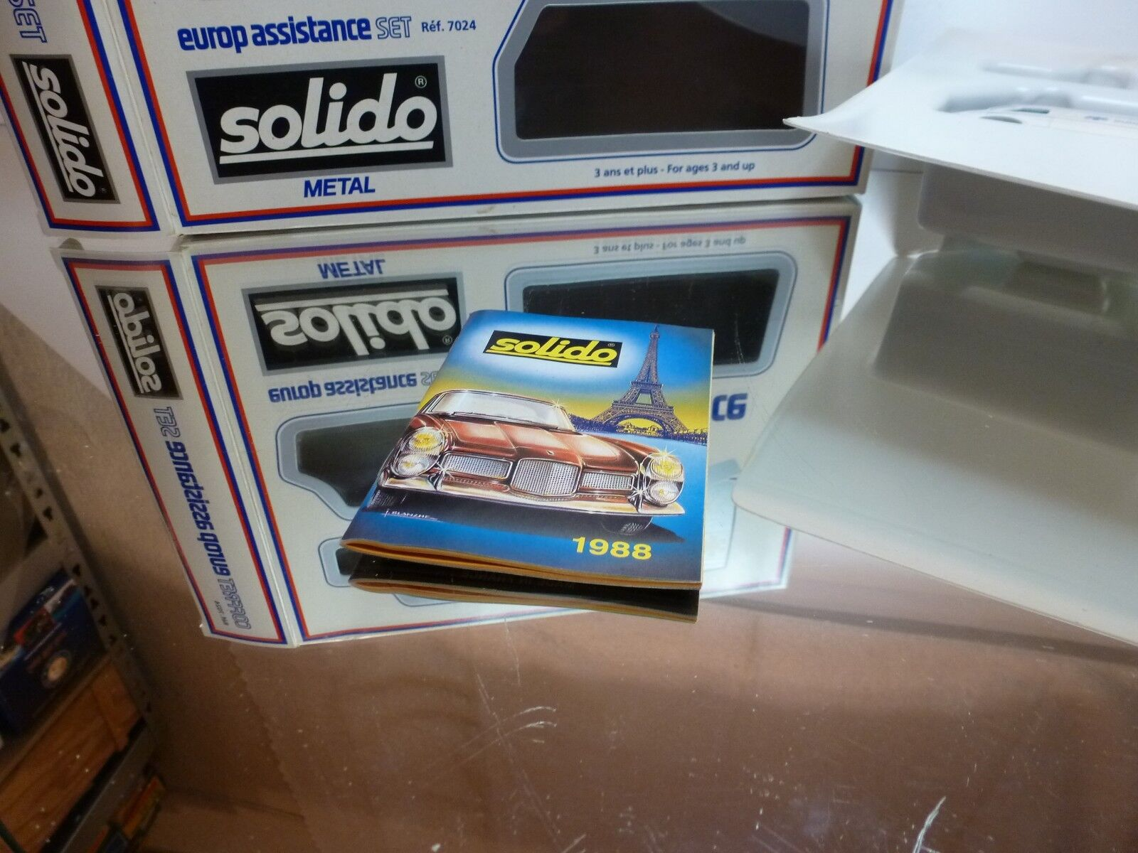 SOLIDO 7024 EUROP ASSISTANCE SET - GOOD GOOD GOOD CONDITION IN BOX 5a020f