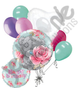 Image Is Loading 7 Pc Tatty Teddy Amp Roses Happy Birthday