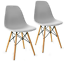 thumbnail 17 - Dining-Table-and-Chairs-4-6-Set-Wooden-legs-Retro-dining-Room-Chair-Grey-Kitchen