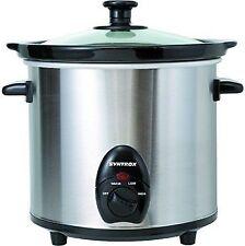 3,0 Liter Edelstahl Slow Cooker mit Warmhaltefunktion