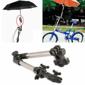 Schirmhalter-fuer-Fahrrad-Rollator-Rollstuhl-Golf-Angeln-Sonnenschirm-Kinderwagen