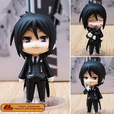 """Anime Black Butler Sebastian Michaelis Nendoroid 68# 4"""" Action Figure Toy Gift"""