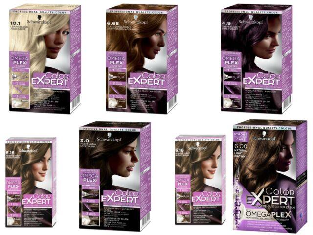 Genuine Schwarzkopf Professional Permanent Color Expert Hair dye Anti breakage