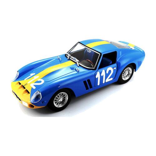 "Bburago 26305 Ferrari 250 GTO blau /""112/"" Maßstab 1:24 Modellauto NEU °"