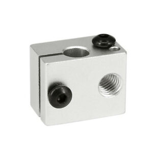 Premium 3D Printer Part V6 Aluminum Hotend Heater Heating Block for Extruder