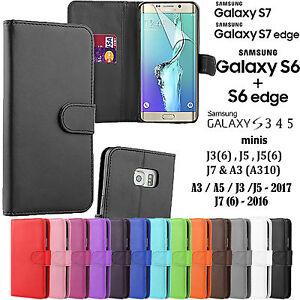 NUOVO-MAGNETICO-FLIP-PELLE-LIBRO-CUSTODIA-COVER-a-portafoglio-per-Samsung-Galaxy