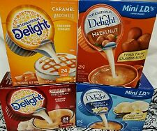 International Delight Vanilla Cold Stone Sweet Cream Caramel Macchiatto Hazelnut