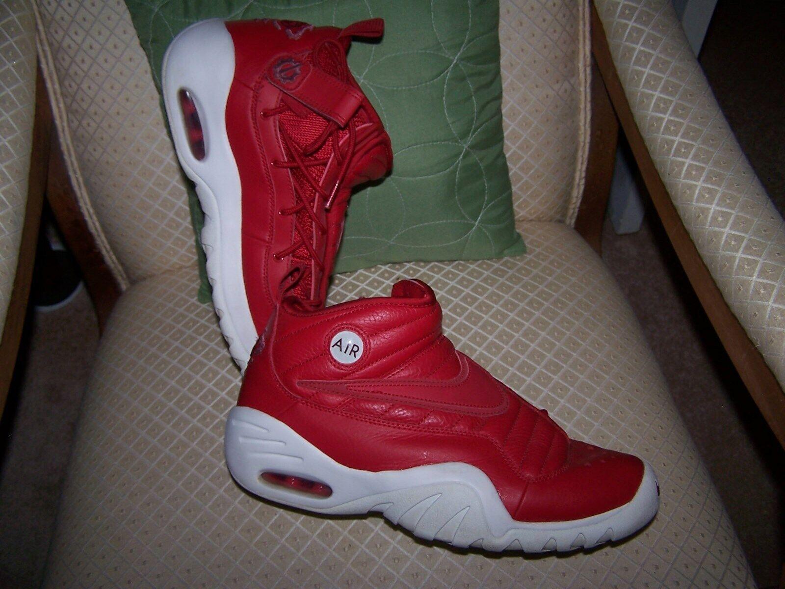 Men's NIKE Air Shake NDestrukt Athletic Fashion Sneakers [880869 600] sz  9.5