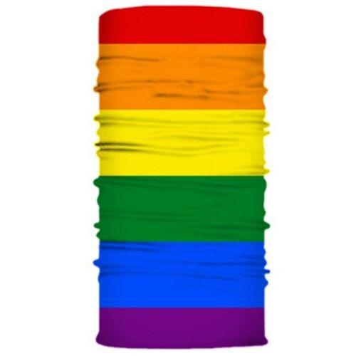 Lesbian//Gay Rainbow Multifunctional Snood Scarf