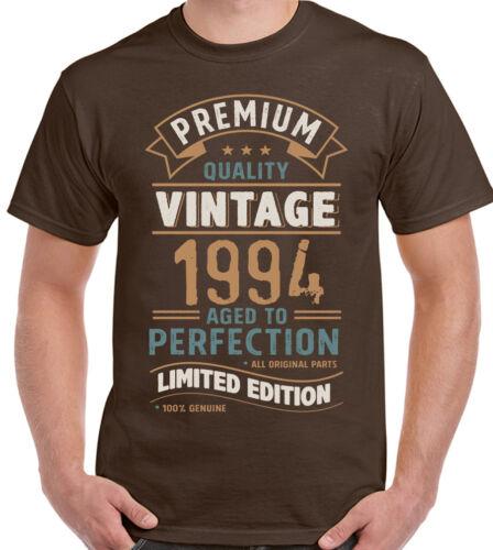 Vintage Jahr 1994 Limitierte Auflage 25th Geburtstag Herren Lustiges T-Shirt