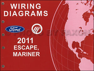 2011 ford escape mercury mariner wiring diagram manual original gasimage is loading 2011 ford escape mercury mariner wiring diagram manual