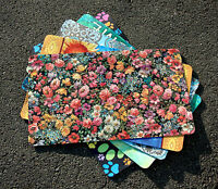 Toland - Flower Foray - Decorative Colorful Floral Door Standard Mat