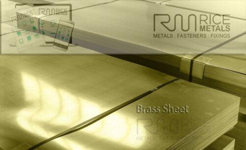 Brass Sheet Metal 0.3// 0.5//0.7//0.9//1.2//1.5 //2.0//3.0mm Various Sizes