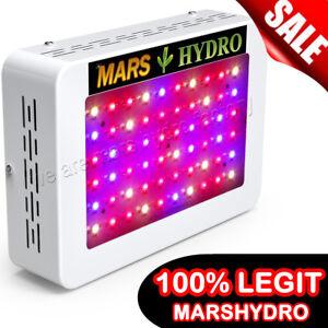 Mars Hydro 300w Led Grow Light Full Spectrum Veg Flower Indoor Plant