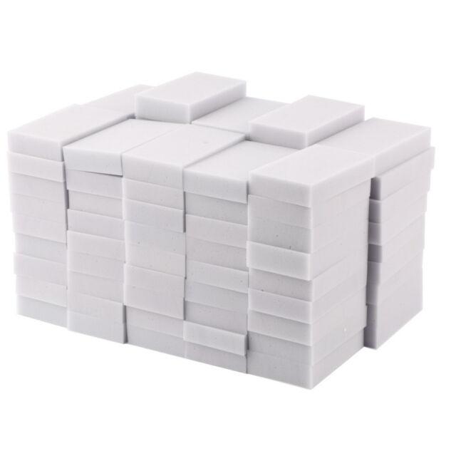 100PCS Magic Sponge Eraser Cleaning Melamine Multi-functional Foam Cleaner ESCA