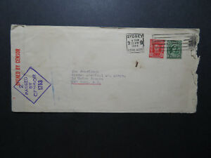 Australia-1944-Censor-Cover-to-USA-Z11512