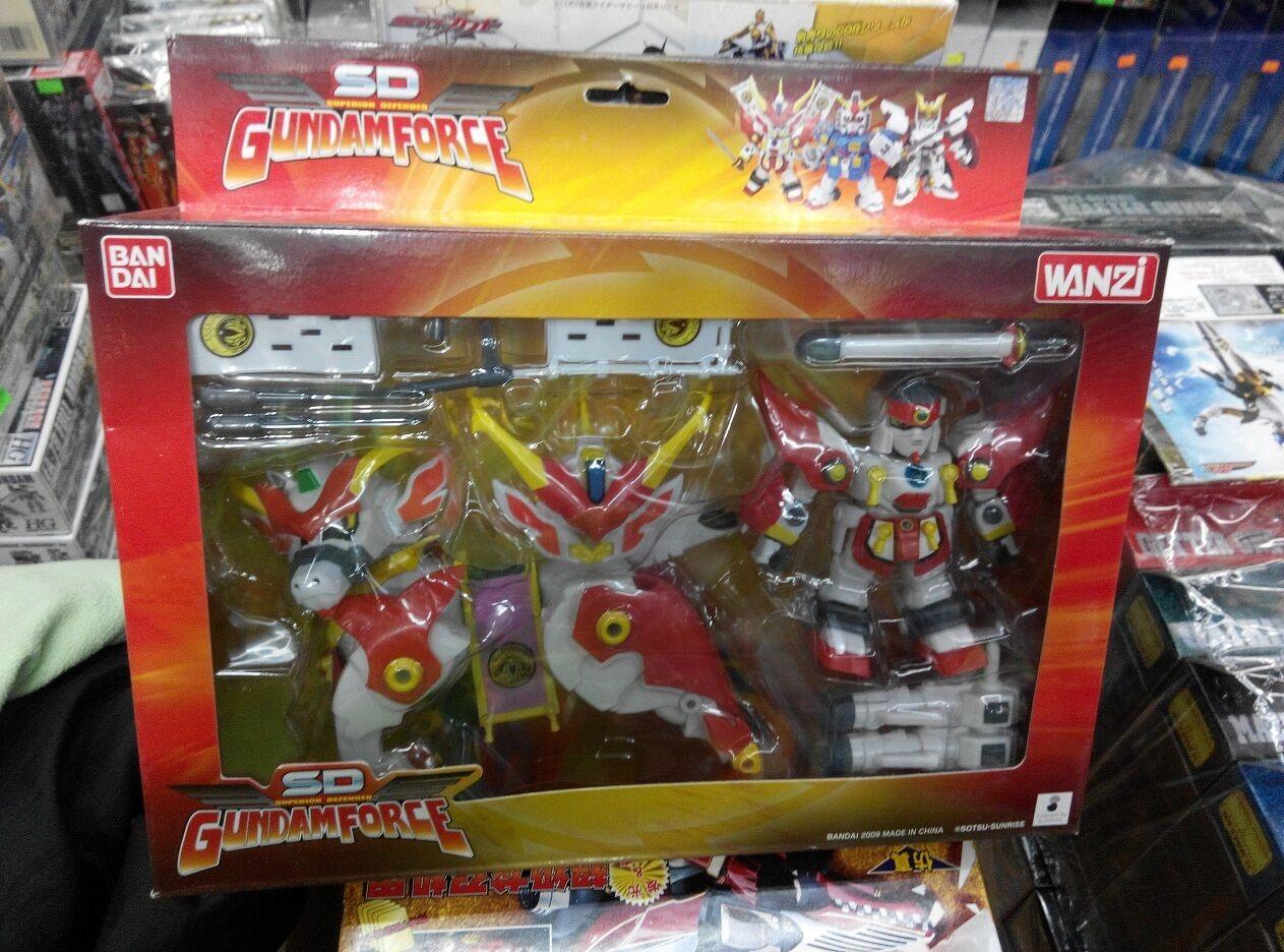 SD Superior Defender Gundam Force Bakunetsumaru Entengo.Musha horse God shinning