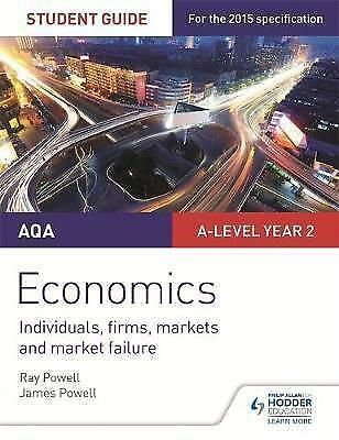1 of 1 - AQA A-level Economics Student Guide 3: Individuals, firms, markets and market fa