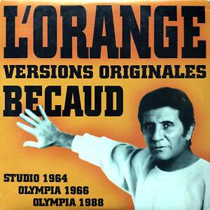 Gilbert-Becaud-CD-Single-L-039-Orange-Versions-Originales-France-EX-EX
