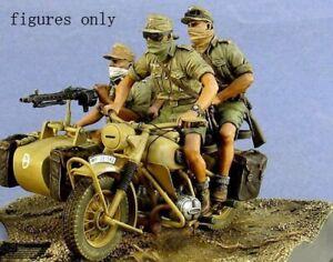1-35-Resin-German-3-Soldiers-North-Africa-Unassembled-Unpainted-BL908