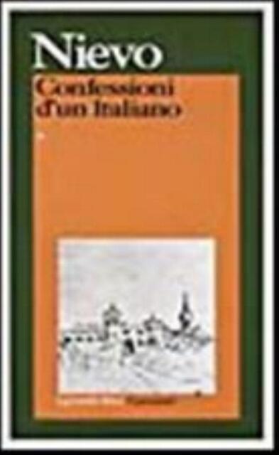 Le confessioni di un italiano, NIEVO, i GRANDI LIBRI GARZANTI, COD:9788811519577