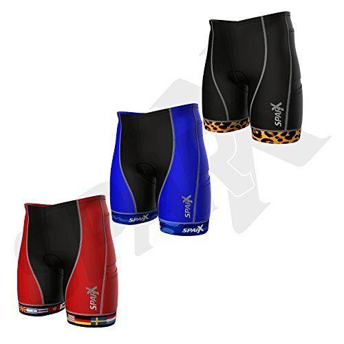 Sparx Uomo`s Competitor Tri Swim Run Short Shorts Triathlon Short Run High End Compression 1af1c6