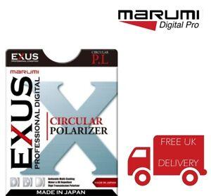 Marumi 72mm EXUS Circular Polarizing Filter EXS72CIR UK Stock
