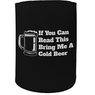 Acquista A Buon Mercato Stubby Titolare-se è Possibile Leggere Birra Fredda Funny-divertenti Novità Compleanno-