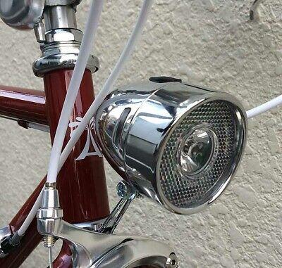 Kiley Retro Classic Bicycle Bullet Head Light 1W Super LED Bikes