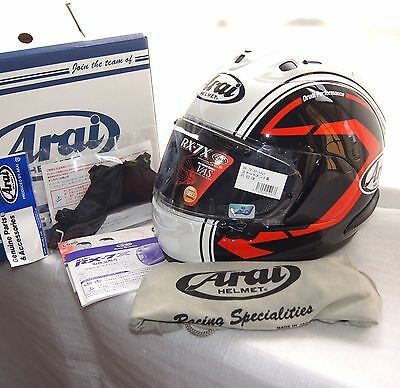 Arai Full face helmet Statement Black RX-7X CORSAIR-X RX-7V ALL Size CASCO