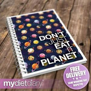 WEIGHT-WATCHERS-COMPATIBLE-DIET-DIARY-Dont-Just-Eat-It-Planet-W001W-12wk