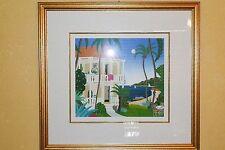 Thomas McKnight Marigot print from Caribbean Dreams Suite