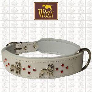 WOZA-Premium-Hundehalsband-Franzoesische-Bulldogge-Lederhalsband-Vollleder-OC9673