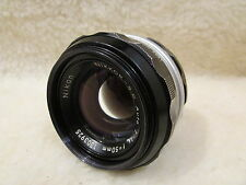 Nikon Nikkor- S C  Auto 50mm F1.4 Manual Focus Prime Lens Free UK Postage