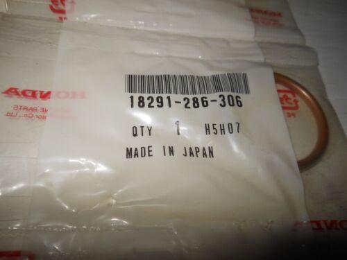 Gasket Exhaust Pipe # 18291-286-306 NOS OEM Honda CX500 CB350 GL1100 +