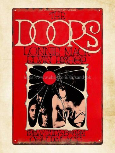 The Doors concert poster metal tin sign collectible tin signs