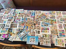 Wonderful thematic hoard of 114 all different miniature sheets Asian all korea