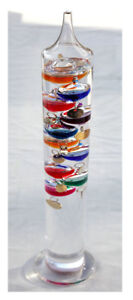 Large 44cm tall Free standing Galileo thermometer in Gift packaging 5055595809335