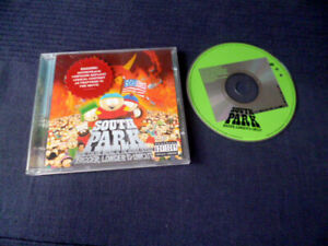 CD Soundtrack South Park Bigger Longer UNCUT Isaac Hayes Trick Daddy Cartman