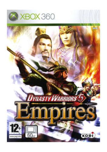 1 of 1 - Dynasty Warriors 5: Empires (Microsoft Xbox 360, 2006) - European Version