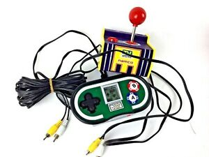 Lot-Of-2-TV-Games-Namco-amp-World-Poker-Tour-Plug-and-Play-Video-Game-System-Jakks