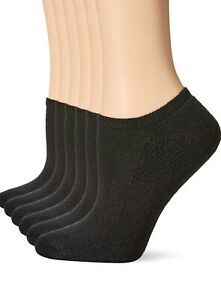 No-Nonsense-Women-039-s-Soft-amp-Breathable-Cushioned-No-Show-Liner-6-pairs