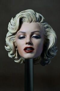 1-6-Painted-Marilyn-Monroe-Head-Sculpt-For-12-inches-Female-Action-Figure-Body
