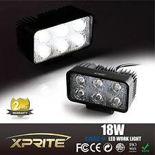 Xprite 18W CREE LED Spot Work Light Bar Fog Driving Lamp Off-road Truck 4WD SUV