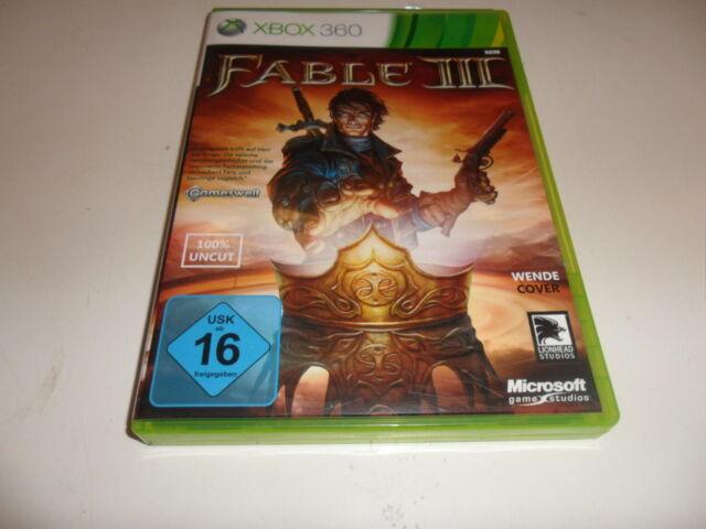 XBOX 360 Fable III (Uncut)