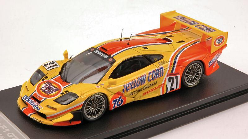 McLaren F1 GTR  21 Jgtc 2001 Ebbro For Hpi 1 43 Model 44672 EBBRO